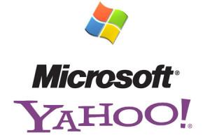 Yahoo and Microsoft