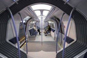futuristic looking train