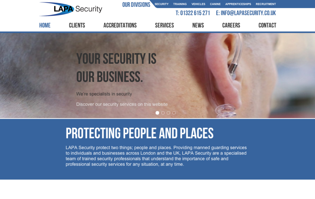 The Lapa Security design