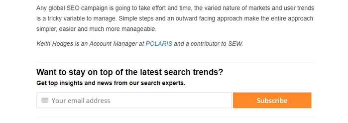 Backlink to SEO agency polaris