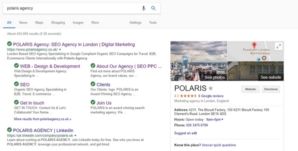 Top SEO Agency Polaris London