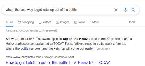 b2b strategy featured snippet
